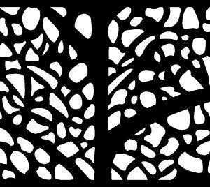 Metal decorative panel 5'X3'