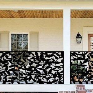 Metal decorative panel 3'x5'