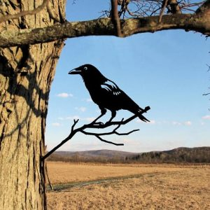 Crow Metal Tree /Metal Birds / metal birds/ /Tree Bird/Yard art