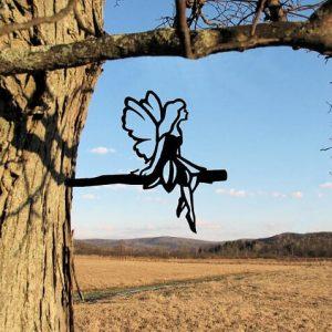 Fairy Metal Tree /Metal Birds / metal birds/ /Tree Bird/Yard art