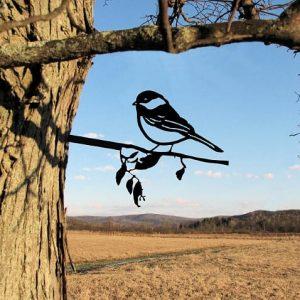 Robin Metal Tree /Metal Birds / metal birds/ /Tree Bird/Yard art