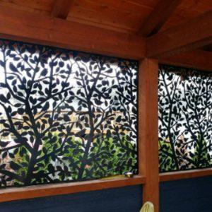 Metal Screens/ Metal Panels/ Metal Decor/ Garden Decor/ Metal Wall Decor 5'x3' (Copy)