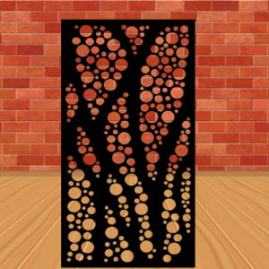 Metal Screens/ Metal Panels/ Metal Decor/ Garden Decor/ Metal Wall Decor 3'x5'